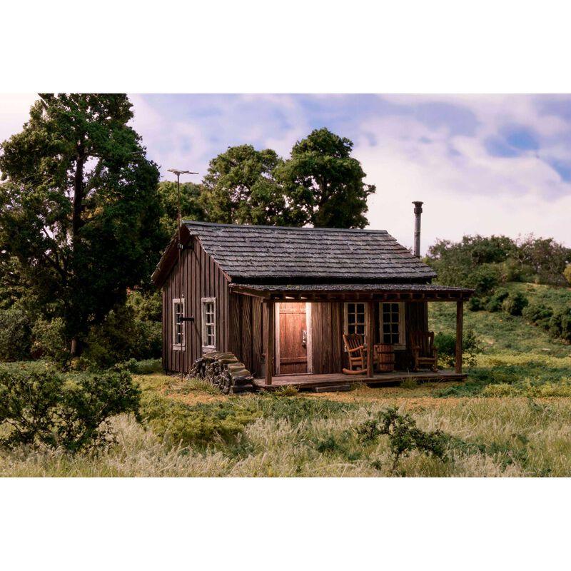 O/B/U Rustic Cabin