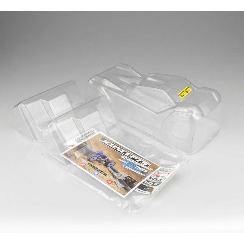 1/8 Finnisher Clear Body: Tekno ET410
