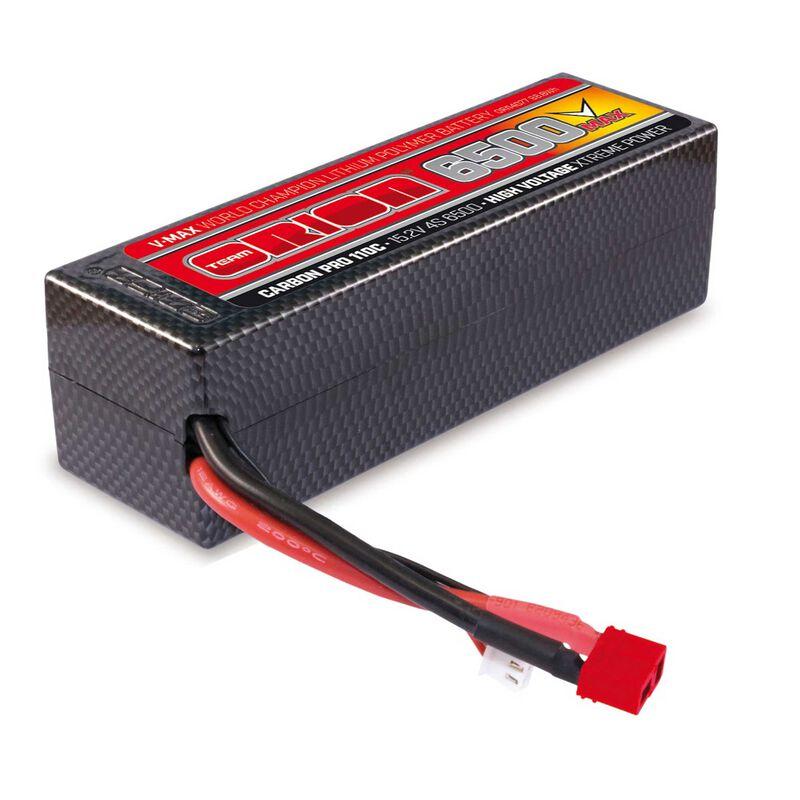 15.2V 6500mAh 4S 110C Carbon Pro V-Max HV-LiPo Battery: Deans