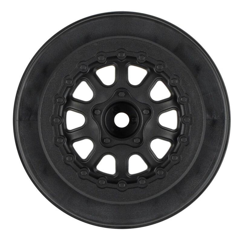 Renegade 2.2, 3.0 Black Short Course Wheels: SLH