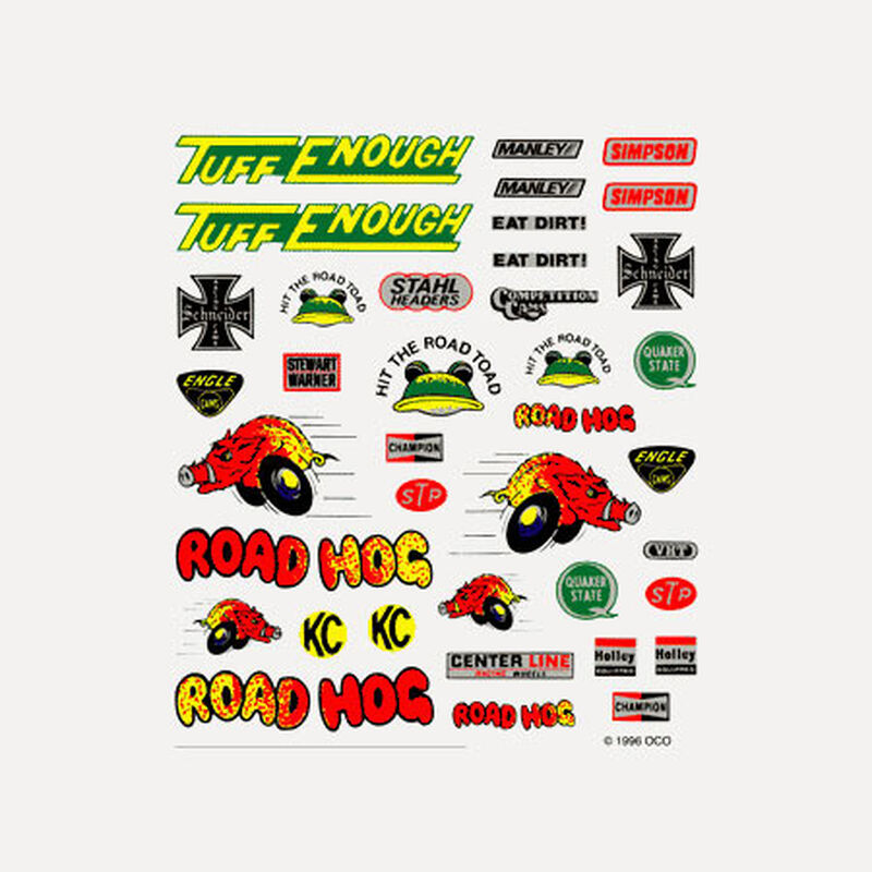Dry Transfer Decals, Off-Road
