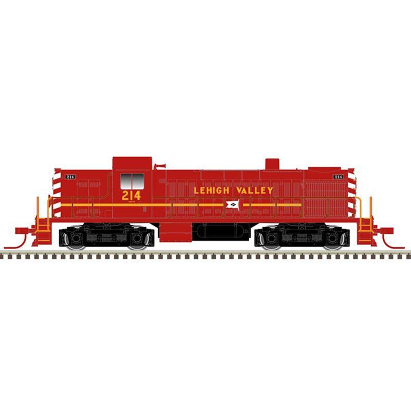 Lehigh Valley 218 (Red/Yellow/Black)