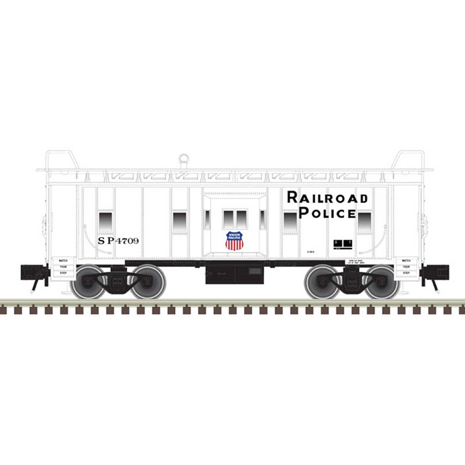 O Bay Window Caboose UP Railroad Police 4709