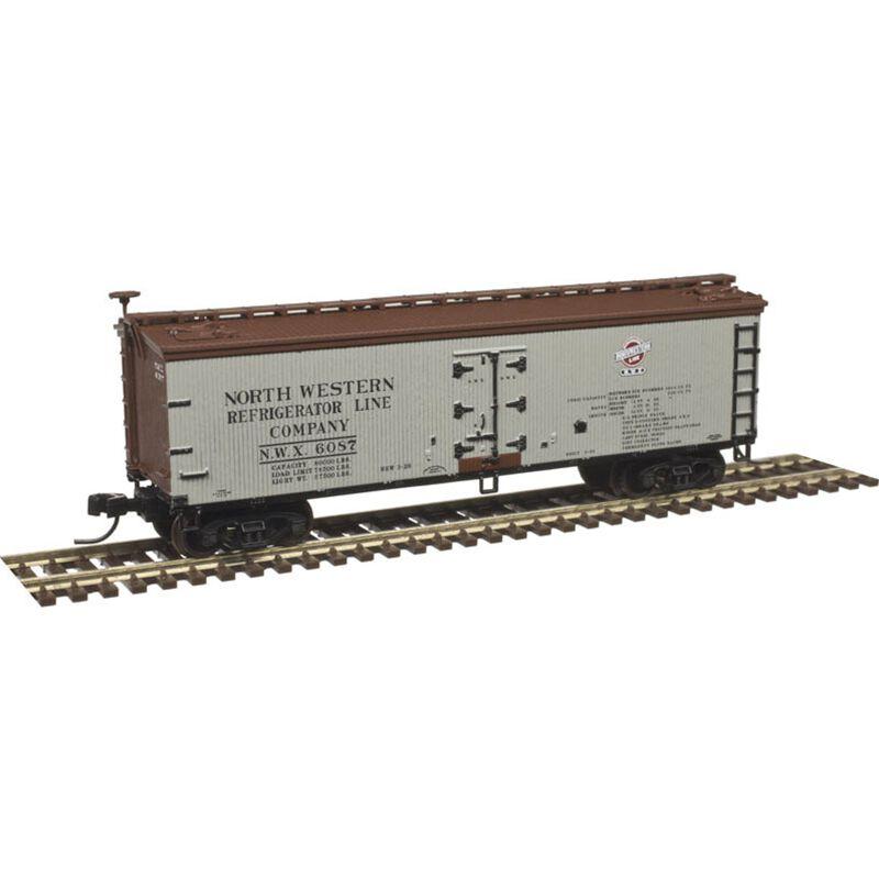 N 40'Wood Reef Northwestern Refrigerator Line#6126
