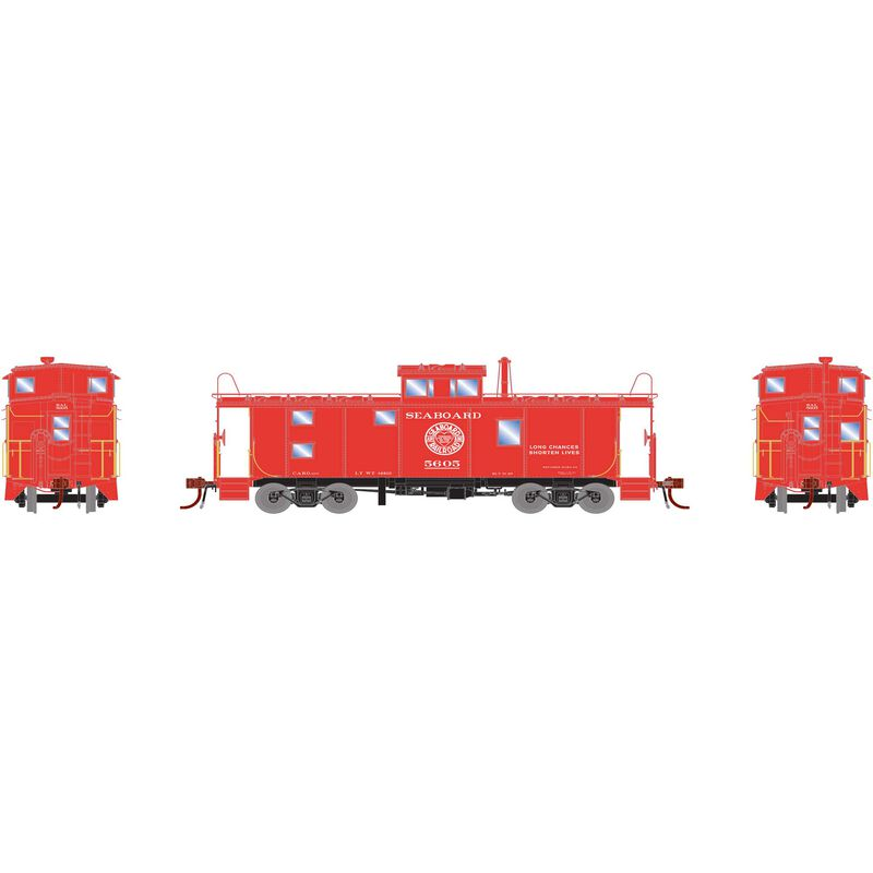 HO ICC Caboose with Lights & Sound SAL #5605