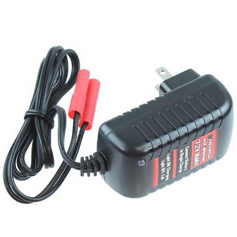 Stock Wall Charger with Banana Connector: Blackout, Everest