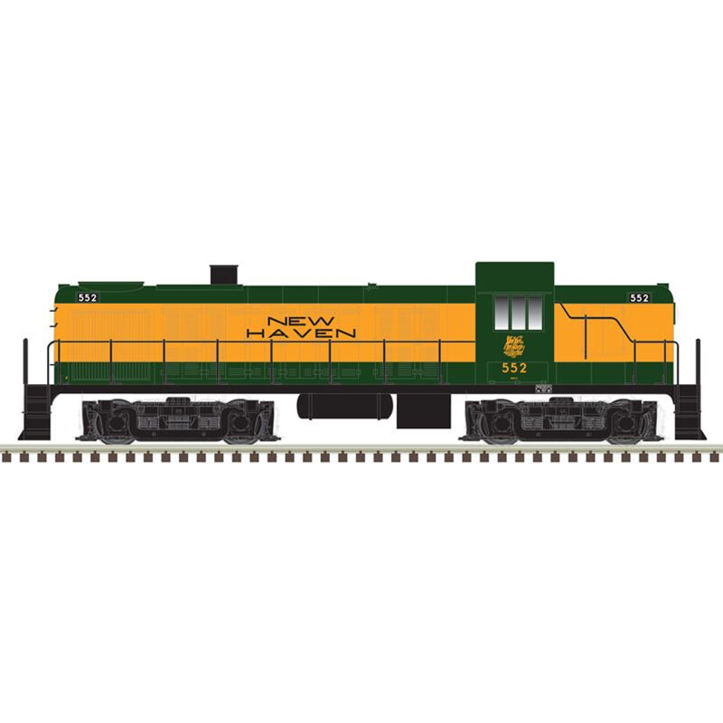 HO RS3 w DCC & Sound NH #539