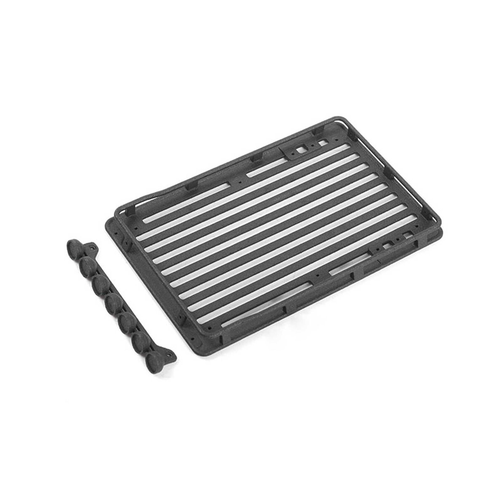 Roof Rack with Light Set: Axial SCX24 Wrangler
