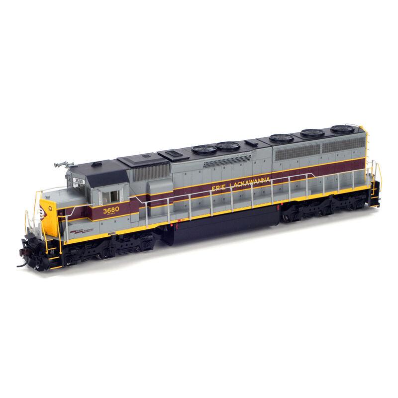 HO SD45-2 with DCC & Sound EL #3680