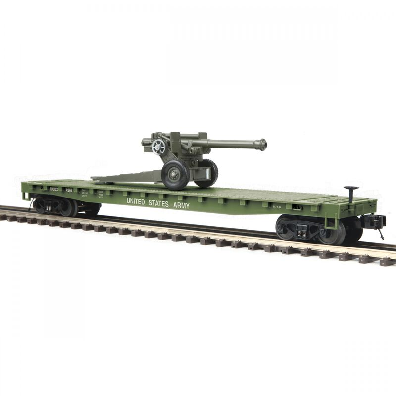 O-27 Flat with 105mm Howitzer US Army #4266