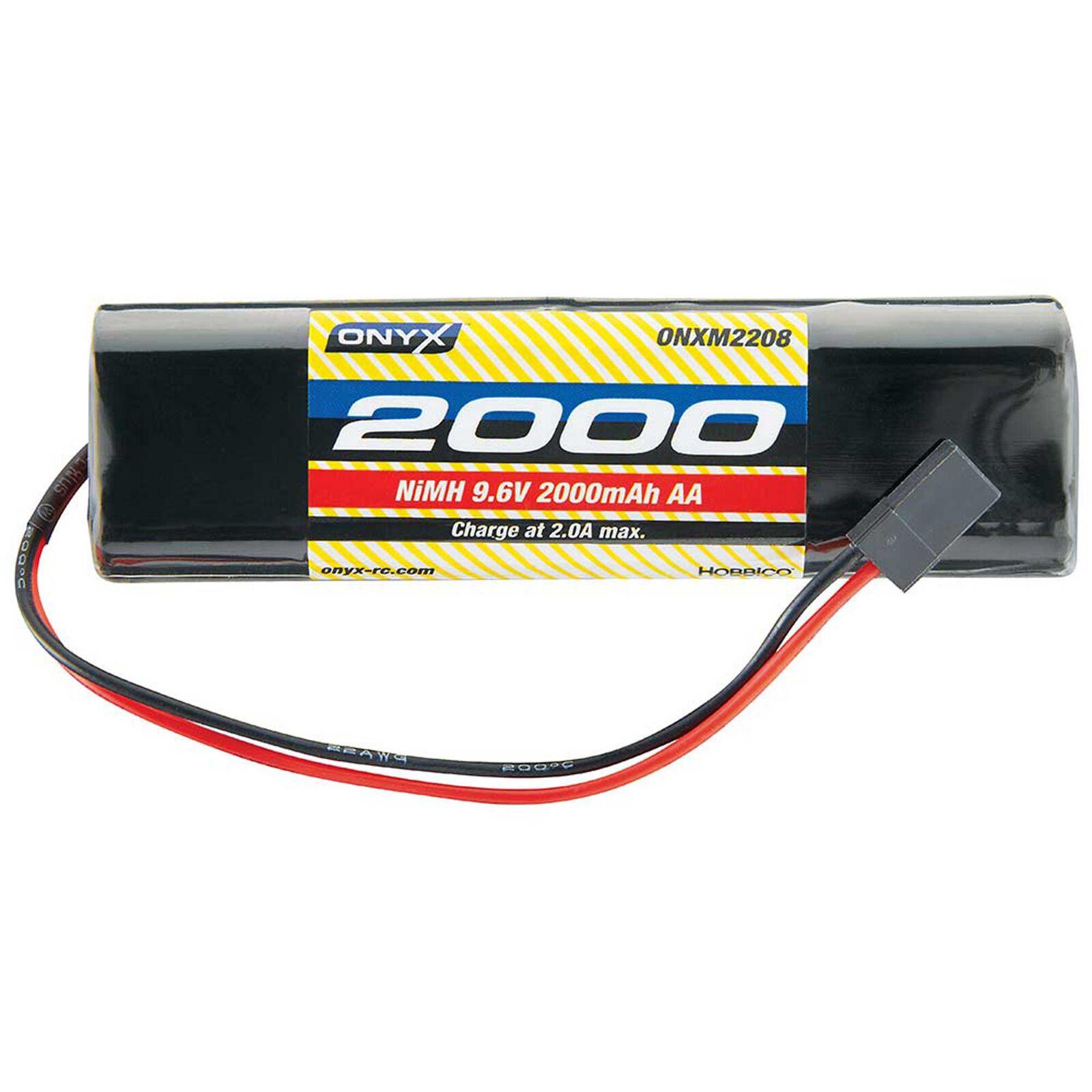 9.6V 2000mAh AA NiMH Square Transmitter Battery: Universal Receiver