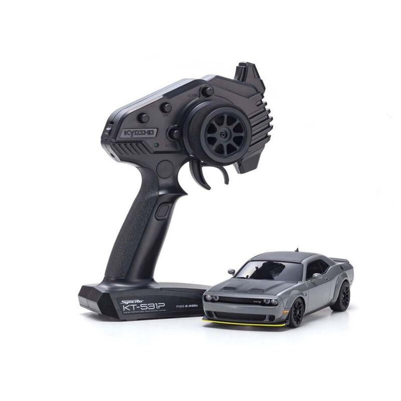 MINI-Z AWD Challenger SRT RTR, Hellcat Redeye Gray