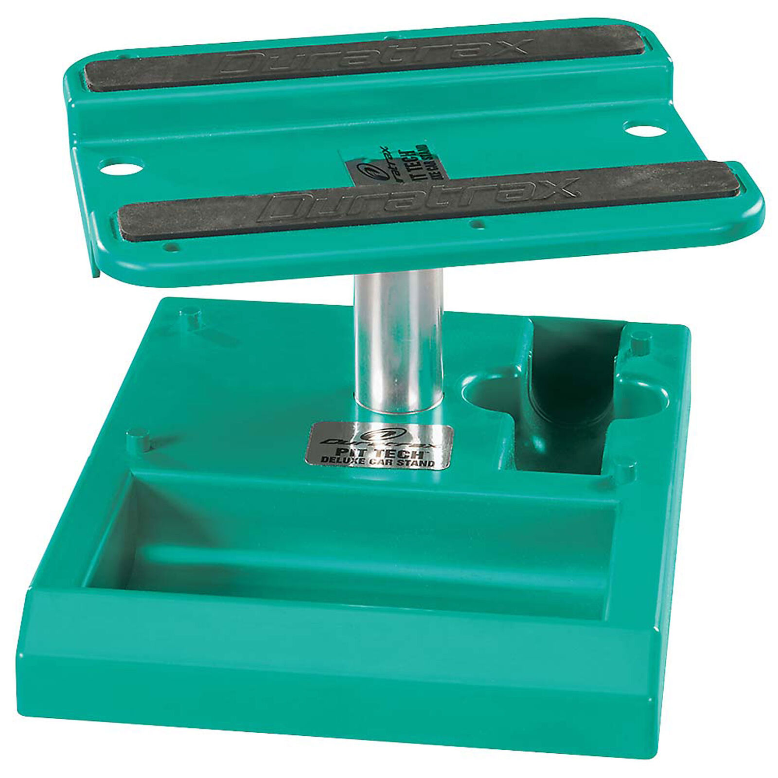 Pit Tech Deluxe Car Stand, Green