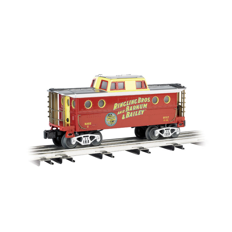 O Williams N5C Caboose Ringling Bros