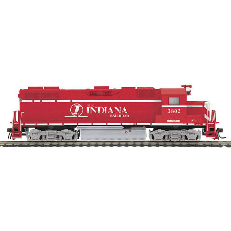 HO GP38-2 with PS3, INRD #3802