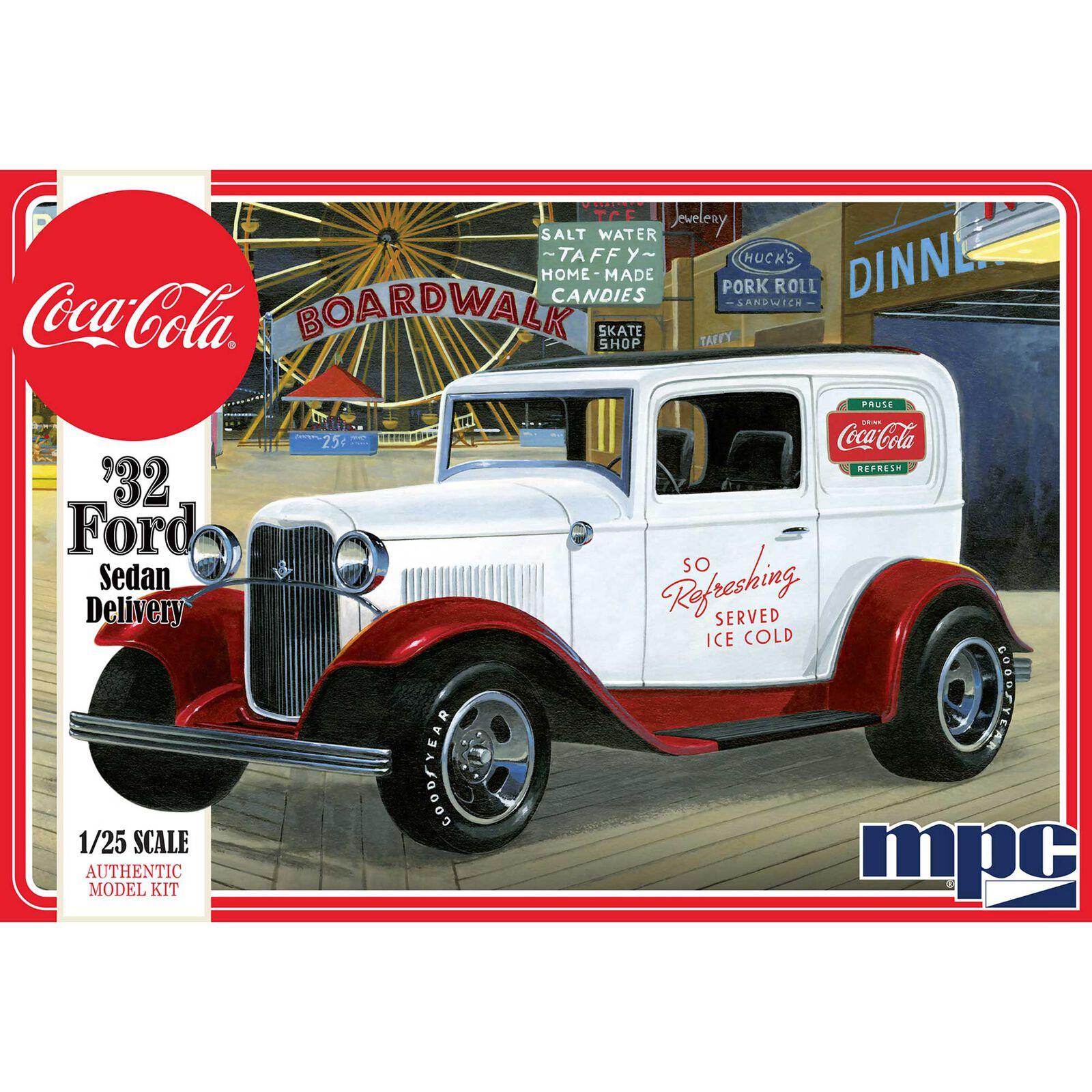 1 25 1932 Ford Sedan Delivery Truck Coca-Cola