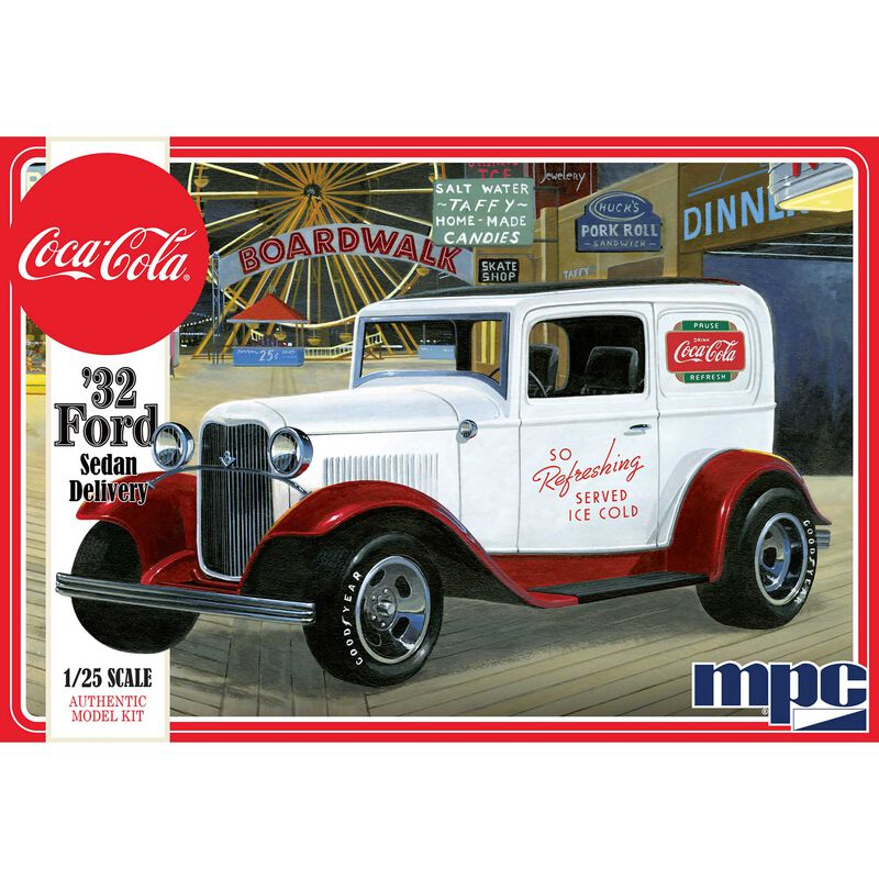 1 25 1932 Ford Sedan Delivery Truck Coca-Cola