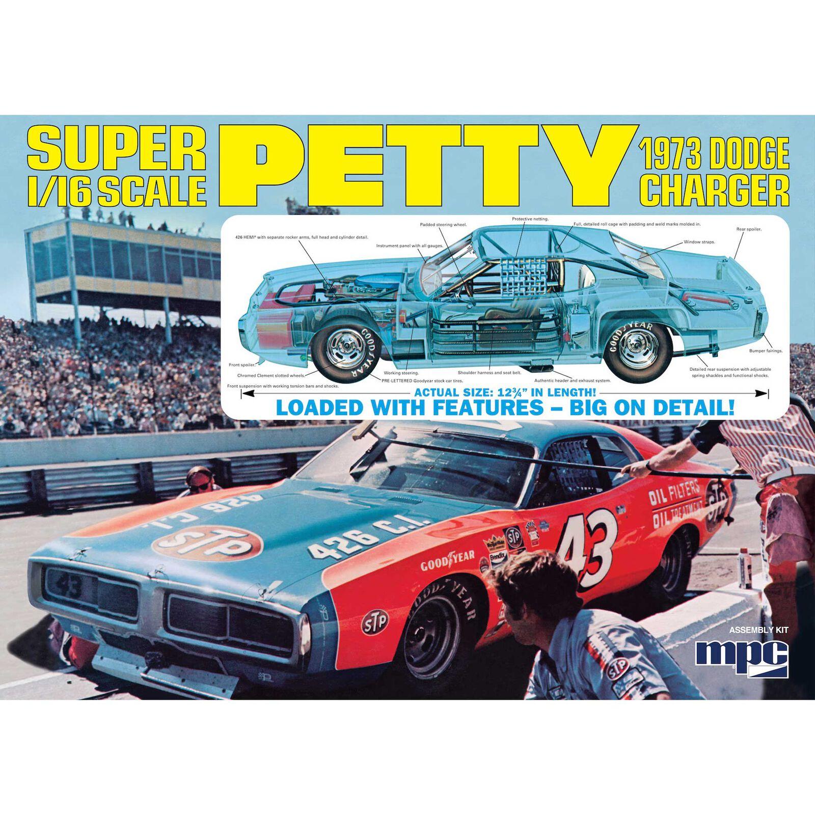 1/16 Richard Petty 1973 Dodge Charger