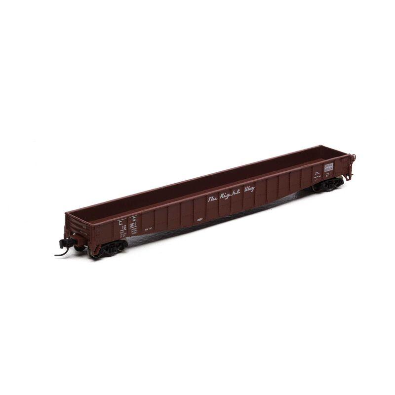 """N 65'6"""" Mill Gondola, CN #155034"""