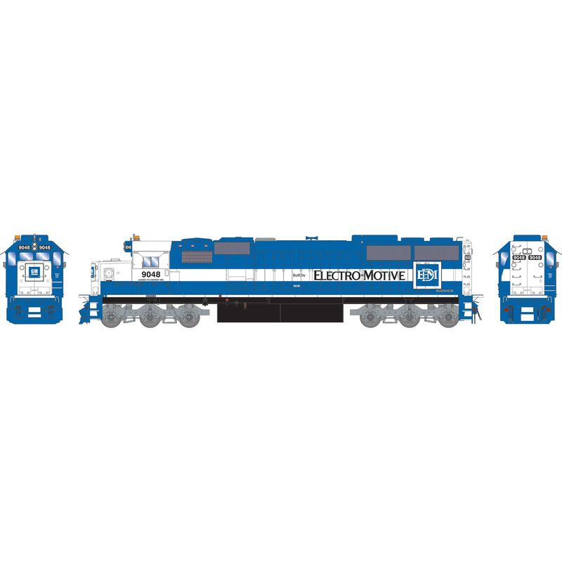 HO RTR SD60 with DCC & Sound EMDX #9048