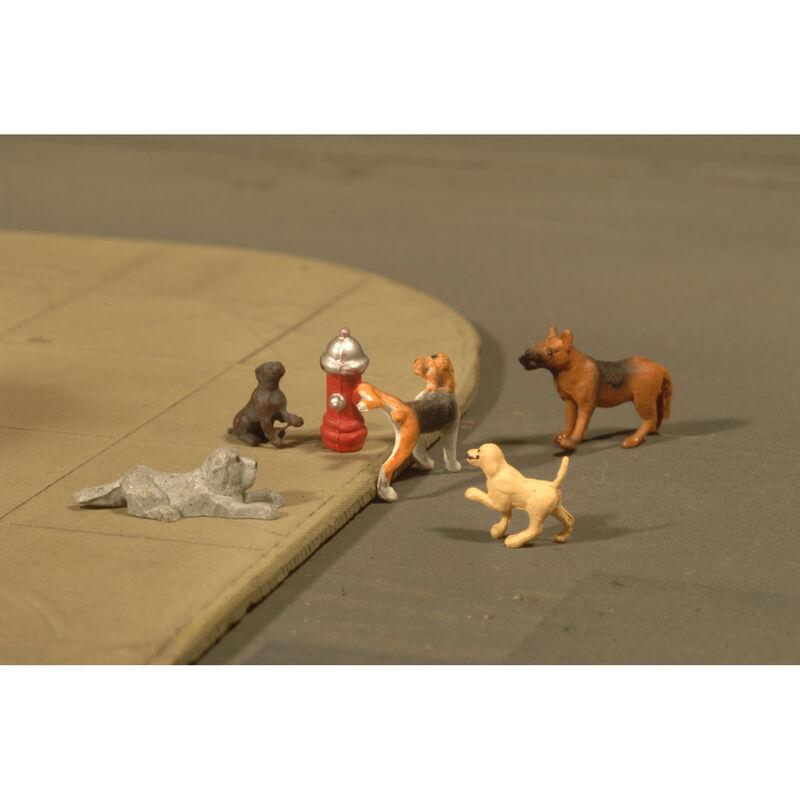 O Dogs w/Fire Hydrant (6)
