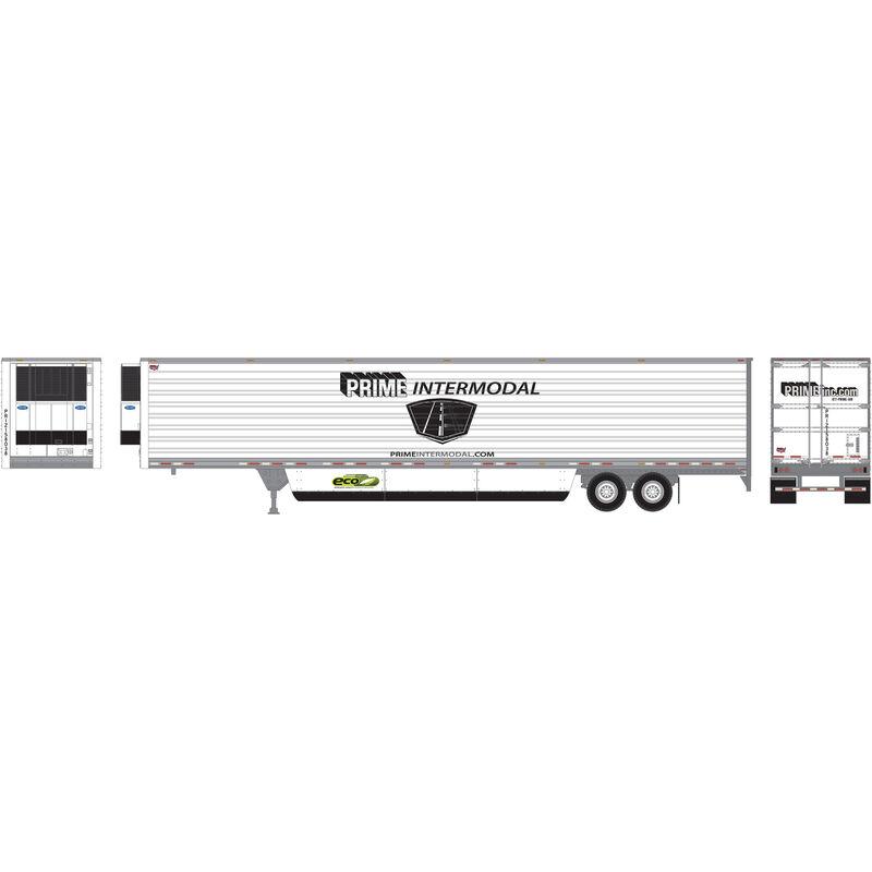 HO RTR 53' Reefer Trailer PRIZ Prime Intermodal #1