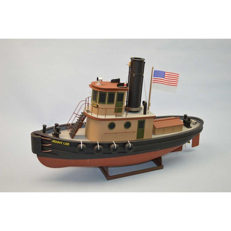 """1/32 Jenny Lee Harbor Tug Boat Kit, 24"""""""