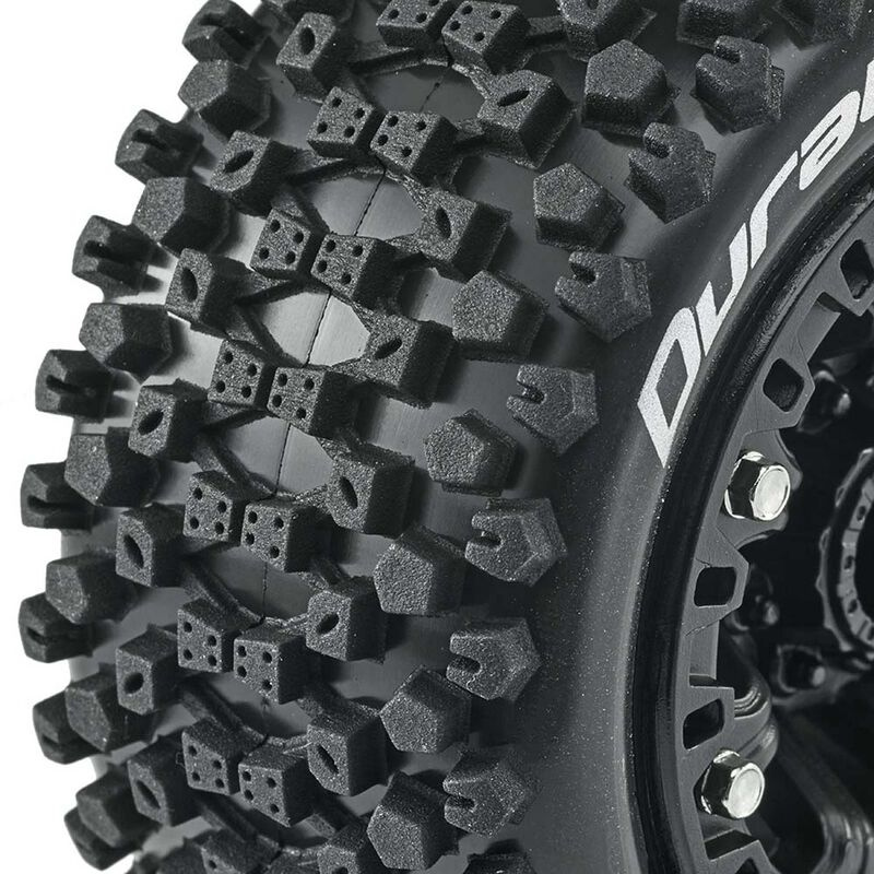 Six Pack ST 2.2 Tires, Black (2)