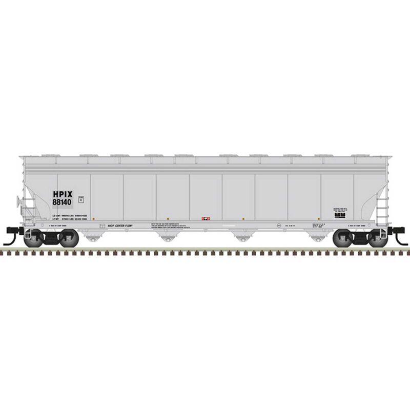 HO ACF 5800 Plastic Hopper Car (HPIX) 88128, Gray/Black