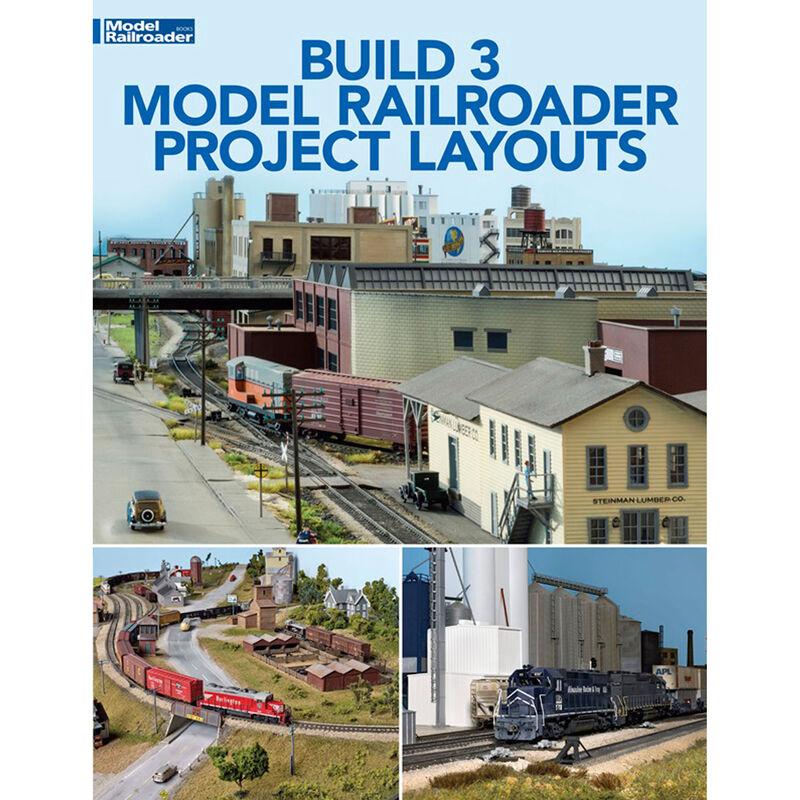 Three Model Railroad Project Layouts