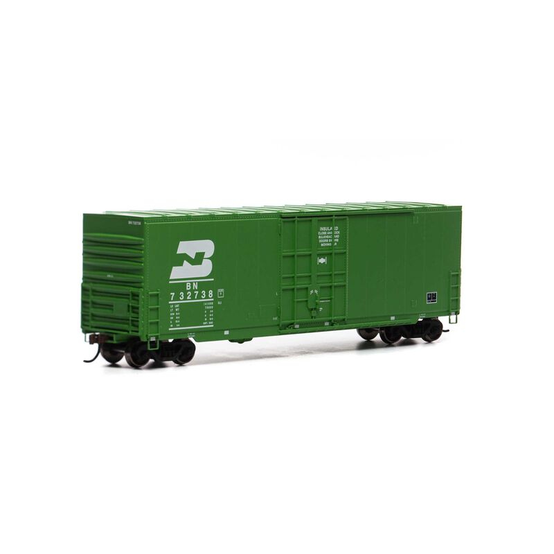 HO 50' Smooth High Cube Plug Box, BN/Late #732738