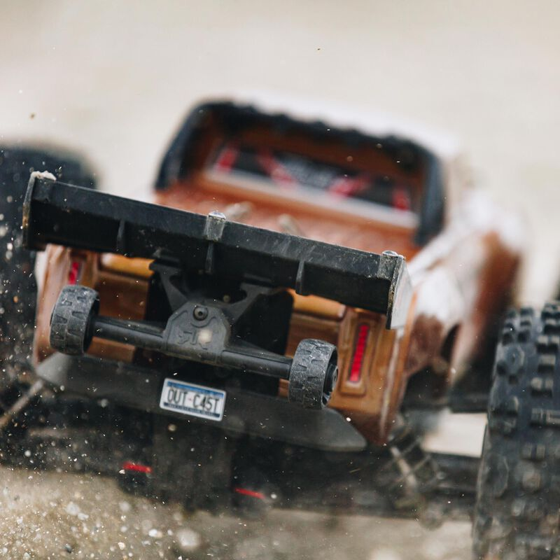 1/10 OUTCAST 4x4 4S BLX Brushless Stunt Truck with Spektrum RTR, Bronze