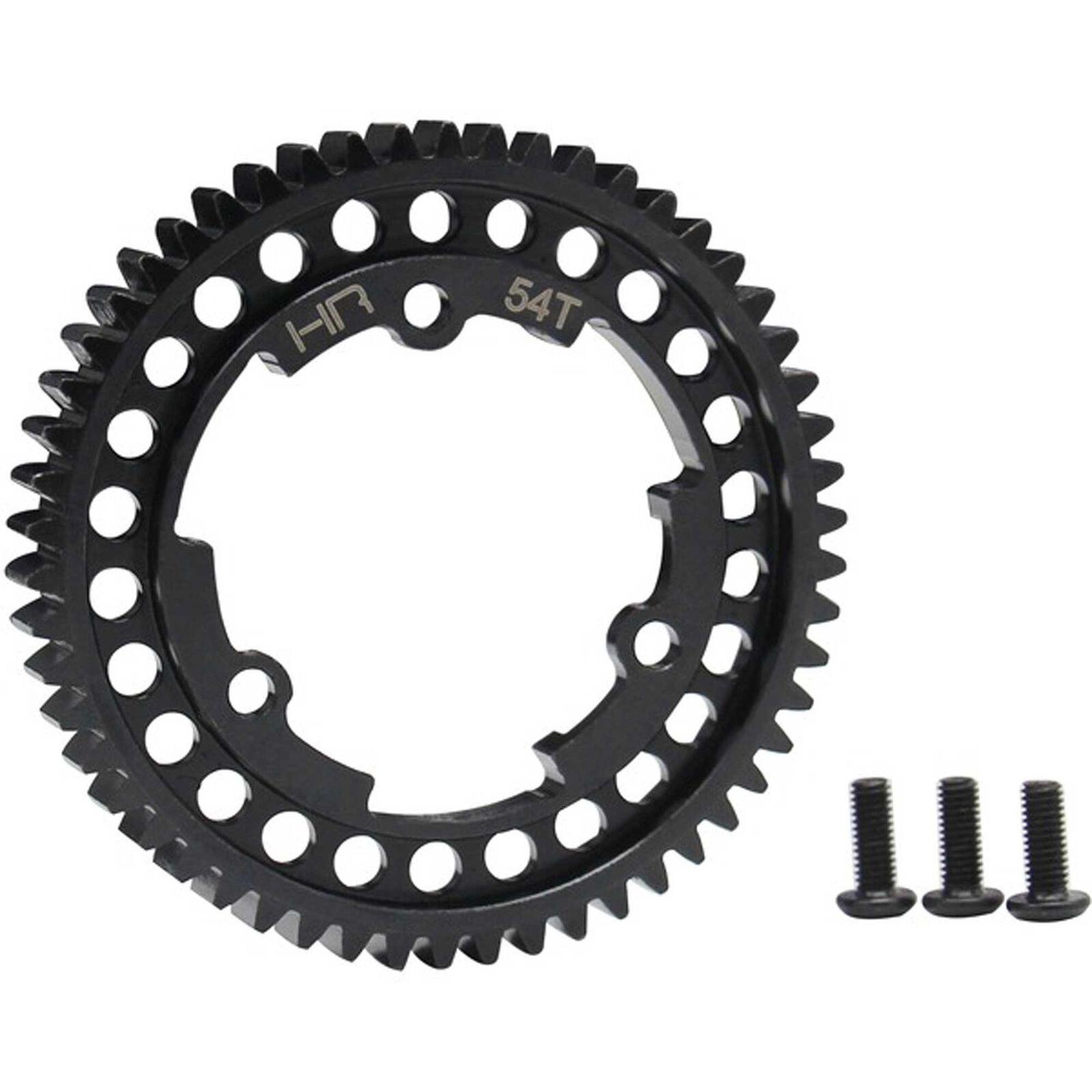 Steel Spur Gear, 54T 1 Mod: X-Maxx Xo-1