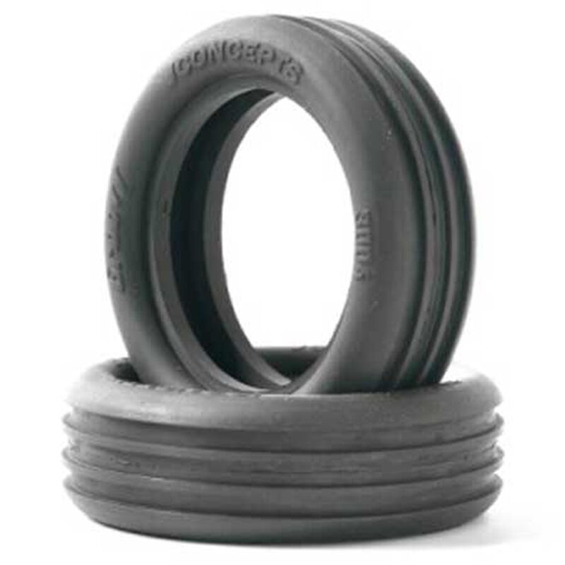 Front Groovy Tire, Green: 2.2 Buggy (2)