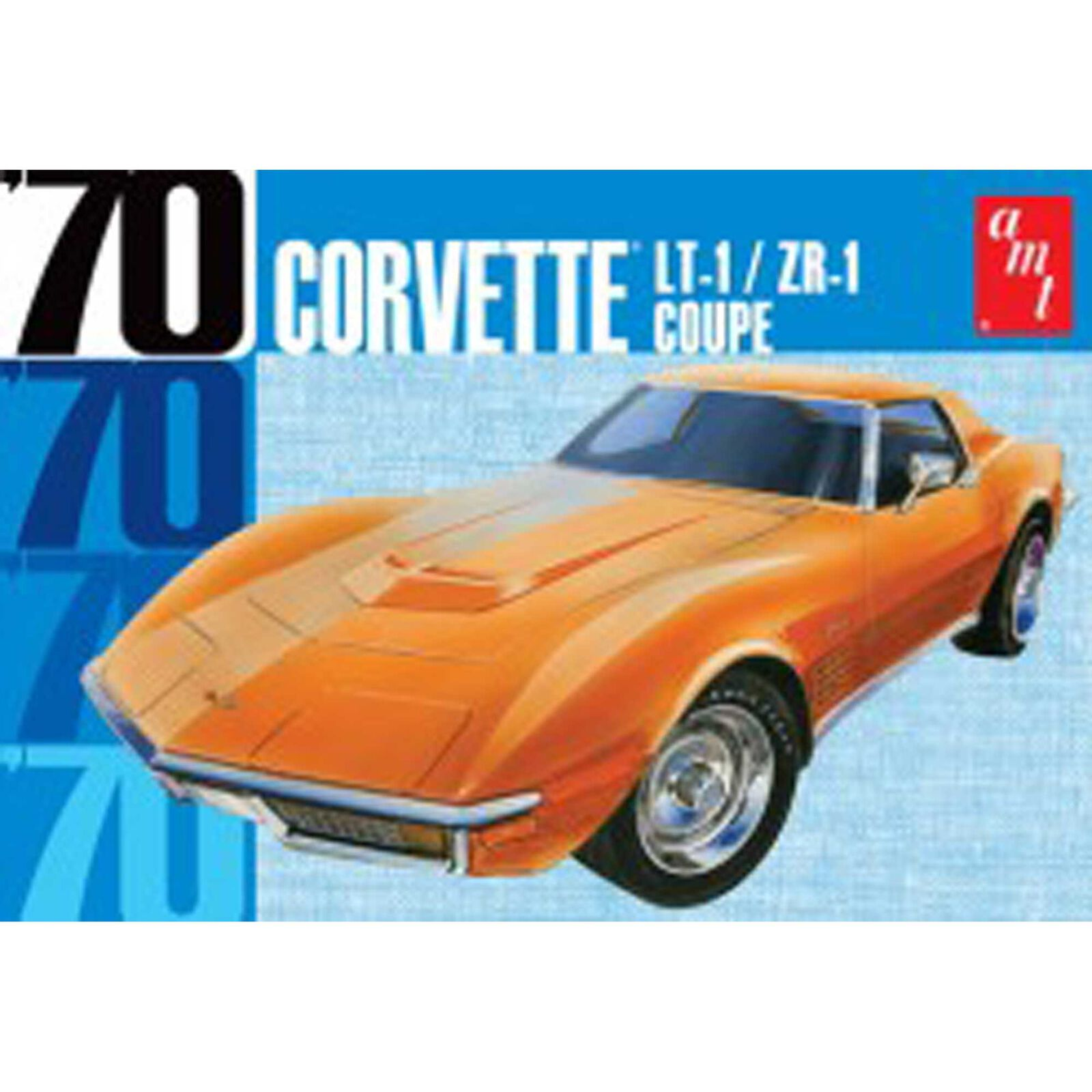 1/25 1970 Chevy Corvette Coupe, Model Kit