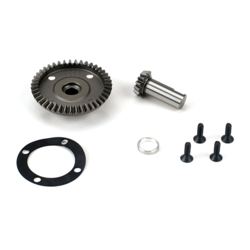 Front/Rear Diff Ring & Pinion: LST/2, XXL/2, LST 3XL-E