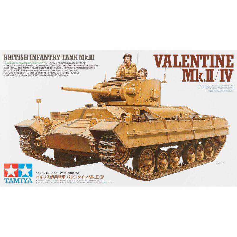 1 35 Brit Infantry Tank Mk.III Valentine Mk.II IV