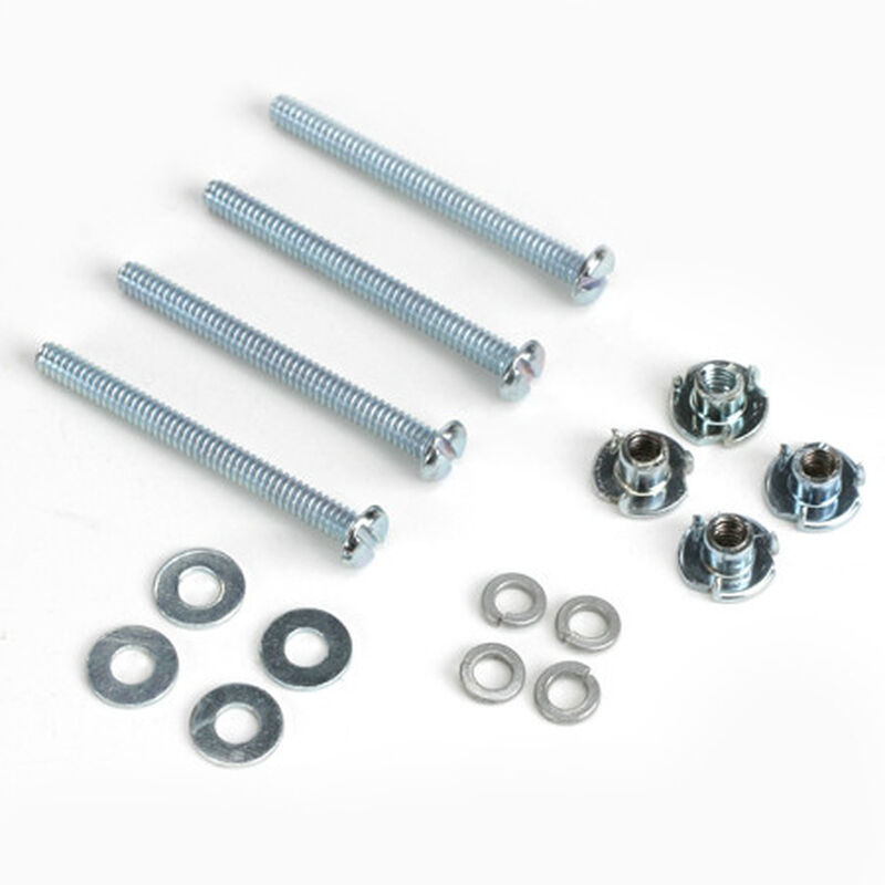 Mounting Bolts & Nuts, 4-40 x 1-1/4