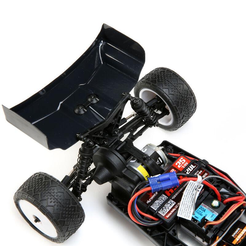 1/16 Mini-B Brushed RTR 2WD Buggy, Blue/White