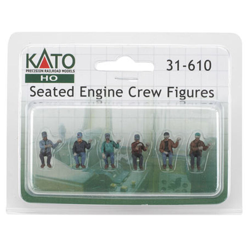HO Seated Engine Crew (6)