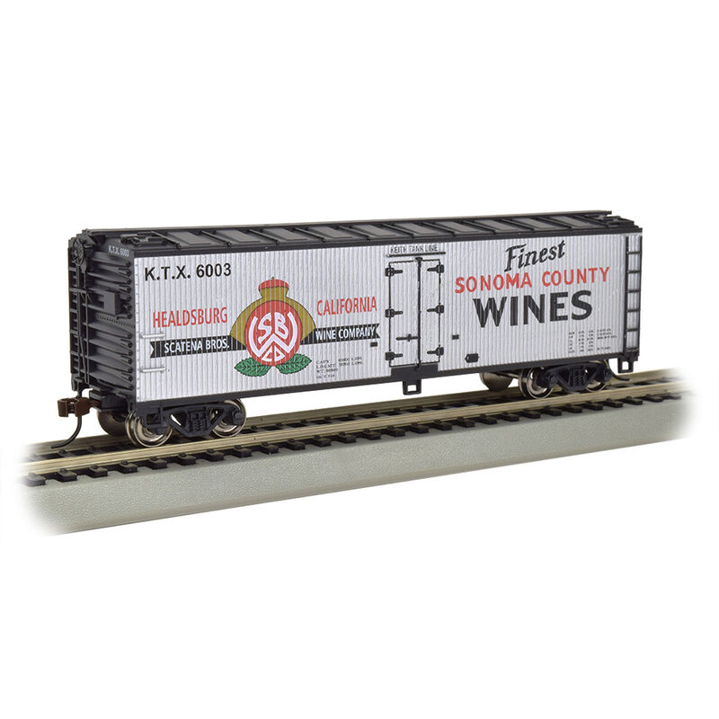 HO 40' Wood Reefer Sonoma County Wines