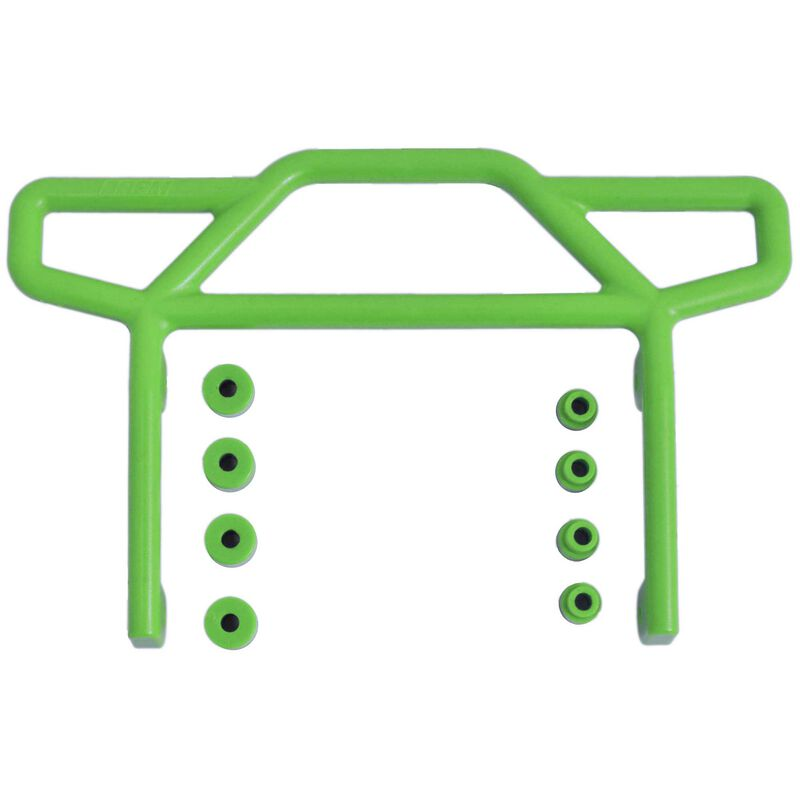 Rear Bumper Green: Rustler