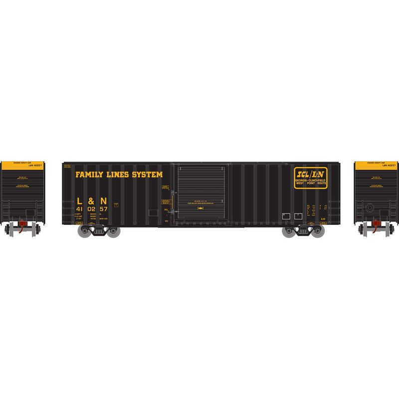 HO RTR 60' ICC Hi-Cube Box L&N #410257