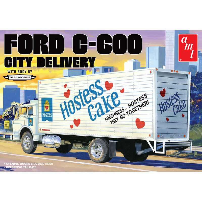 1/25 Ford C-600 City Delivery Hostess