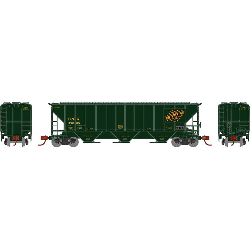N PS 4427 Covered Hopper C&NW Yellow #170158