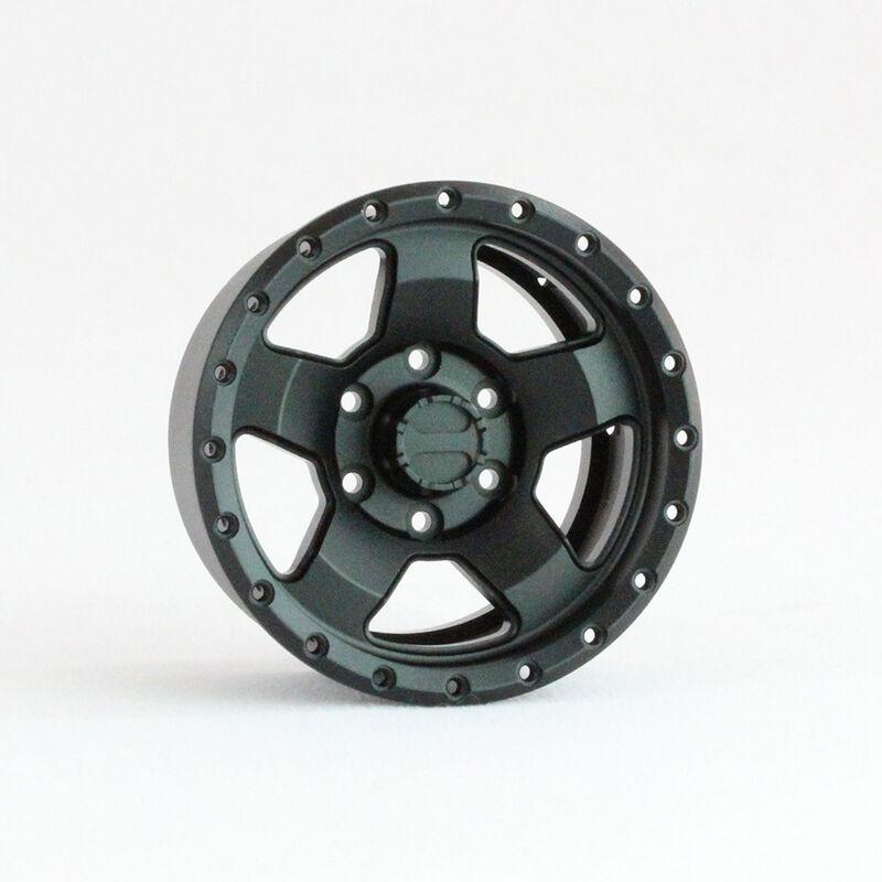 1.9 Raceline COMBAT Aluminum Wheels, Black (4)