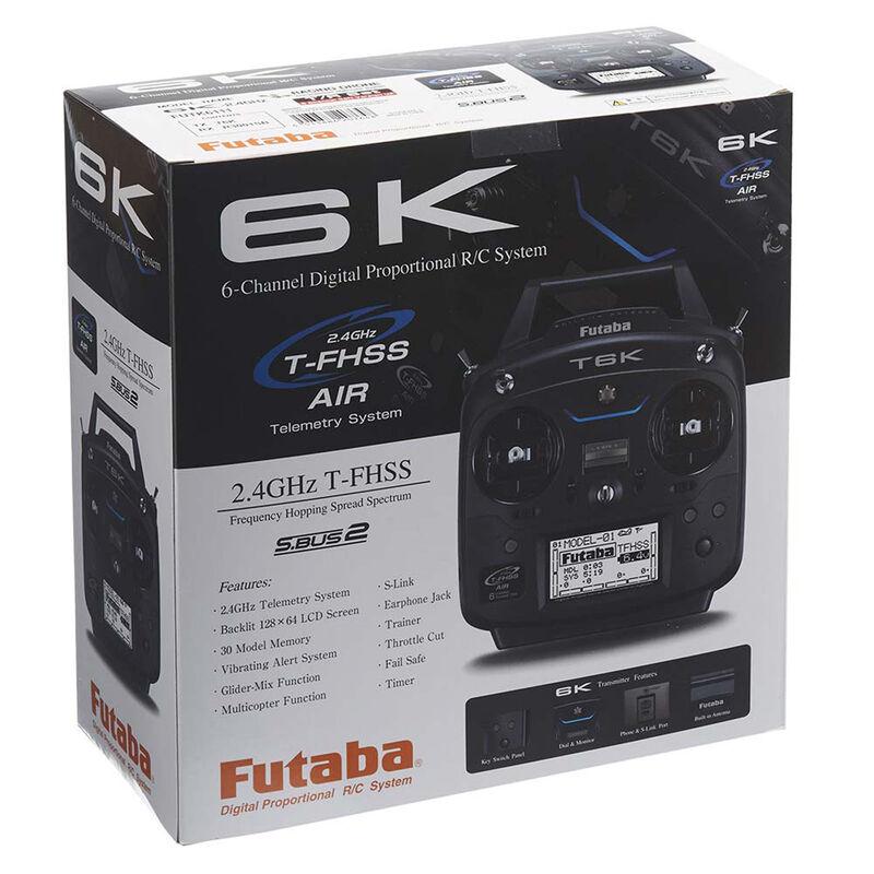 6K V2 6-Channel FPV T-FHSS System