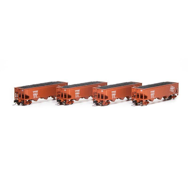 N 40' 3-Bay Offset Hopper with Load MILW #2 (4)