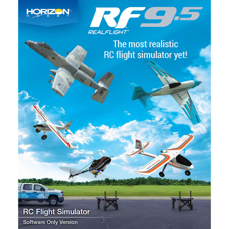 RealFlight 9.5 Flight Simulator, Digital Download