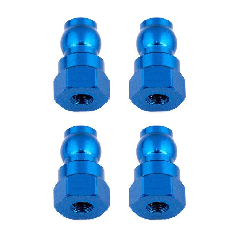 Shock Bushings, 12mm, Blue Aluminum